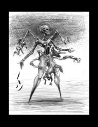 vacant scorpian bitch by smashy-bone