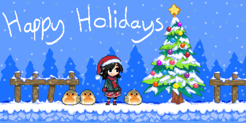 Happy holidays 2017 by Jump-Button