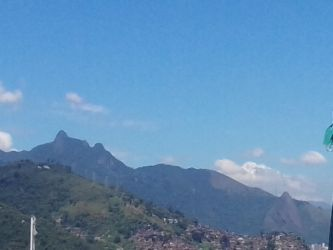 Mountains View of Rio by RogerioGuimaraes