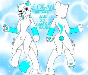 Art Request: Logan The Wolf by UntrimmedLines