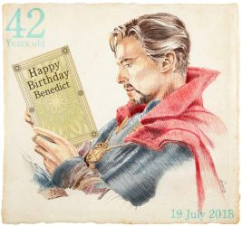 42 Happy Birth Day Benedict by 403shiomi
