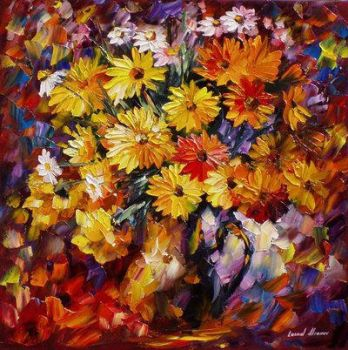 Triumph Of The Morning by Leonid Afremov by Leonidafremov