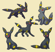 PokemonSubspecies: Umbreon by CoolPikachu29