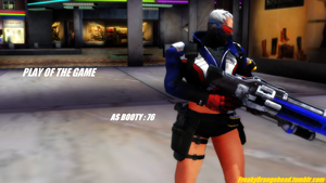 [MMD] PLAY OF THE GAME - BOOTY 76 Wallpaper by FreakyOrangehead