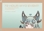 Liralux- 72 hour myo event(closed) by Dia-Dear