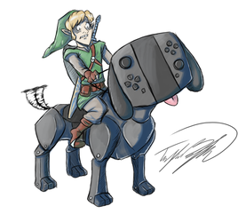 Link and the Switch Pupper - Stream Results by TaylorBoykin