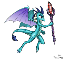 Dragon Lord Ember by Robsa990