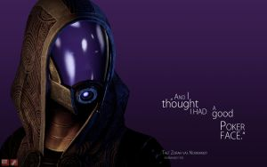 ME Wallpaper - Tali by pineappletree