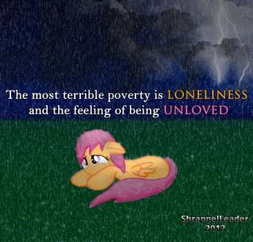 Lonely Scootaloo by ShrapnelLeader