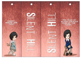 Silent Hill Bookmarks 02 by Dezfezable