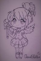 Cloudflitter Chibi by SophieSeraph