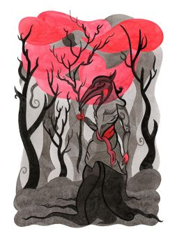 Spirit of the Dead Forest by ADAtheQueenOfHEARTS