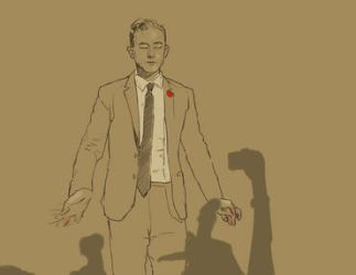 Joseph Gordon Levitt Rotoscope Animation by Carliihde