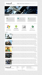 Amphiness Home Page - Sold by crativearch