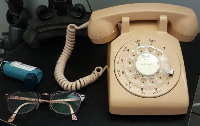 1965 northern telecom rotary phone by thenerd1977