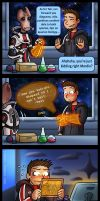 Mass Effect: Time to study by Lukael-Art