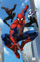 Spidey man and his amazing friends by Dan-the-artguy