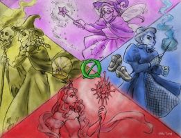 The Witches of Oz by nonsensology