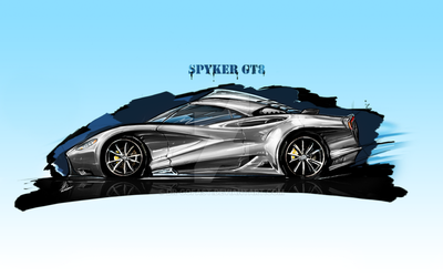 SpyKer Render 4 by Dr-GoFast
