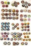 Button Dump 2016 by deerlette