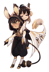 LAHTI/ALI COLLAB! CUTE COUPLES - B by alpacasovereign
