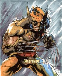 Artist Proof Card - Wolverine by MahmudAsrar