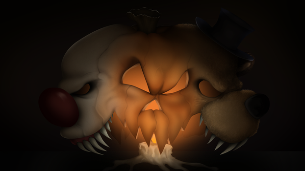 Happy Halloween 2017 (FNAF vs IT) by TonyCrynight