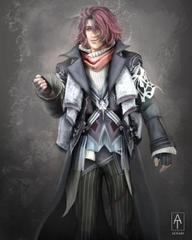 Ardyn - final fantasy XV by Aetiiart