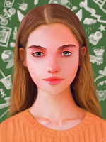 Girl concept portrait by Saliov