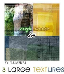 3 Large Textures - Gift by plumerri