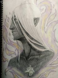 Drizzt Do'Urden by MaleSamuraiElf