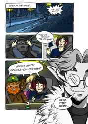 Team Spoopy - Page One by keh-arts