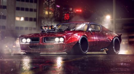 71' Charger by Adry53