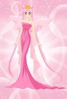 queen Lady serenity colored  by PrincessSailorComet