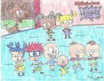 Colored pencil crazies#8: Rugrats by Amazing-A2001
