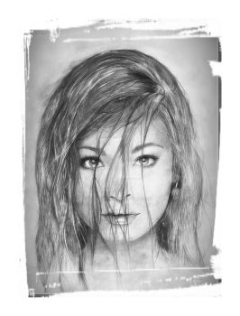 kristin kreuk by loic-drawing