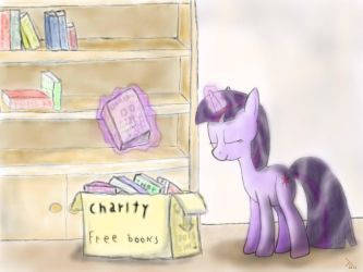 Twilight being a good citizen by Dash1e