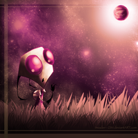Untitled by Invader--ZIM