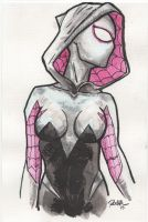 Spider-Gwen sketch by Archonyto