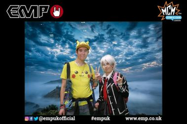 Me and Jason at MCM London Comic Con - EMP Photo by Londonexpofan