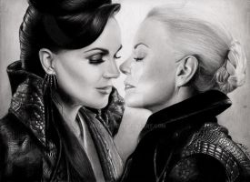Dark SwanQueen : The Untold Story by AbrilImpit