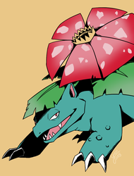Venusaur by Yunique55
