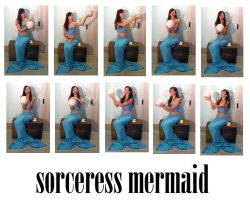 sorceress mermaid pack by syccas-stock
