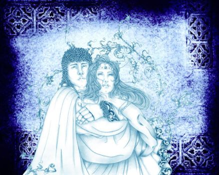Lancelot and Guinevere by LASEED