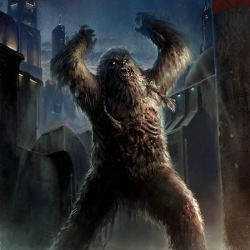 Zombie Wookiee by wraithdt