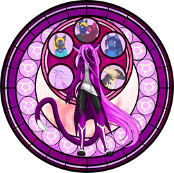 Fiora Stained Glass by Seeraphine