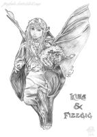 Kira And Fizzgig by JUMBOLA