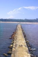 A Pier To Be Amazed by TheArtOfaMadMan