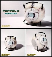 [PORTAL 2] Wheatley - Plushie by ana-k89