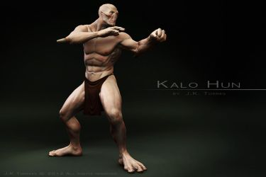 Kalo Hun Fight Stance by EtherealProject